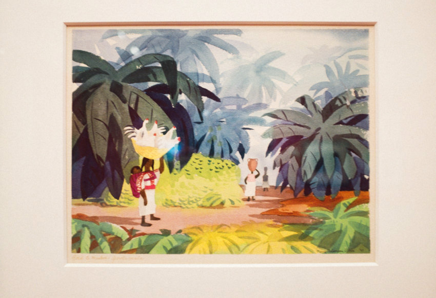 Mary Blair Art Exhibit Disney Family Museum 001 2