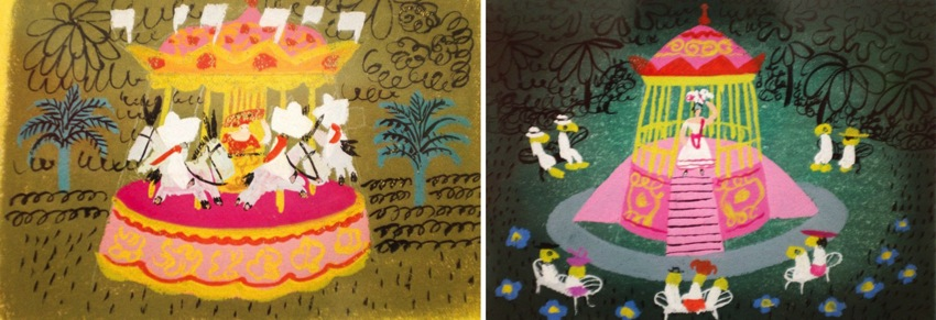 Mary Blair Art Exhibit Disney Family Museum 025a