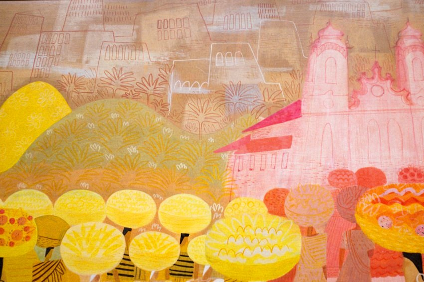 Mary Blair Art Exhibit Disney Family Museum 032