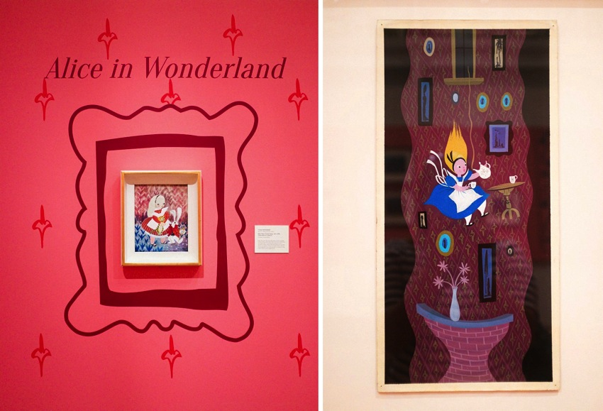 Mary Blair Art Exhibit Disney Family Museum 042a