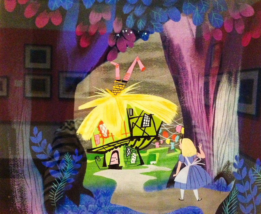 Mary Blair Art Exhibit Disney Family Museum 046