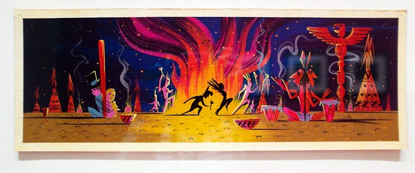 Mary Blair Art Exhibit Disney Family Museum 056