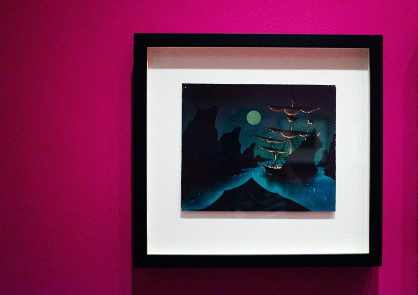 Mary Blair Art Exhibit Disney Family Museum 057