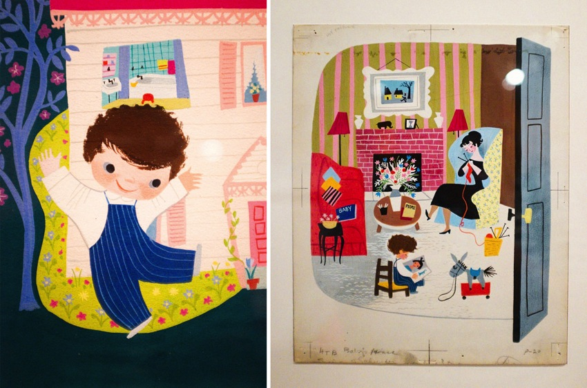 Mary Blair Art Exhibit Disney Family Museum 060a