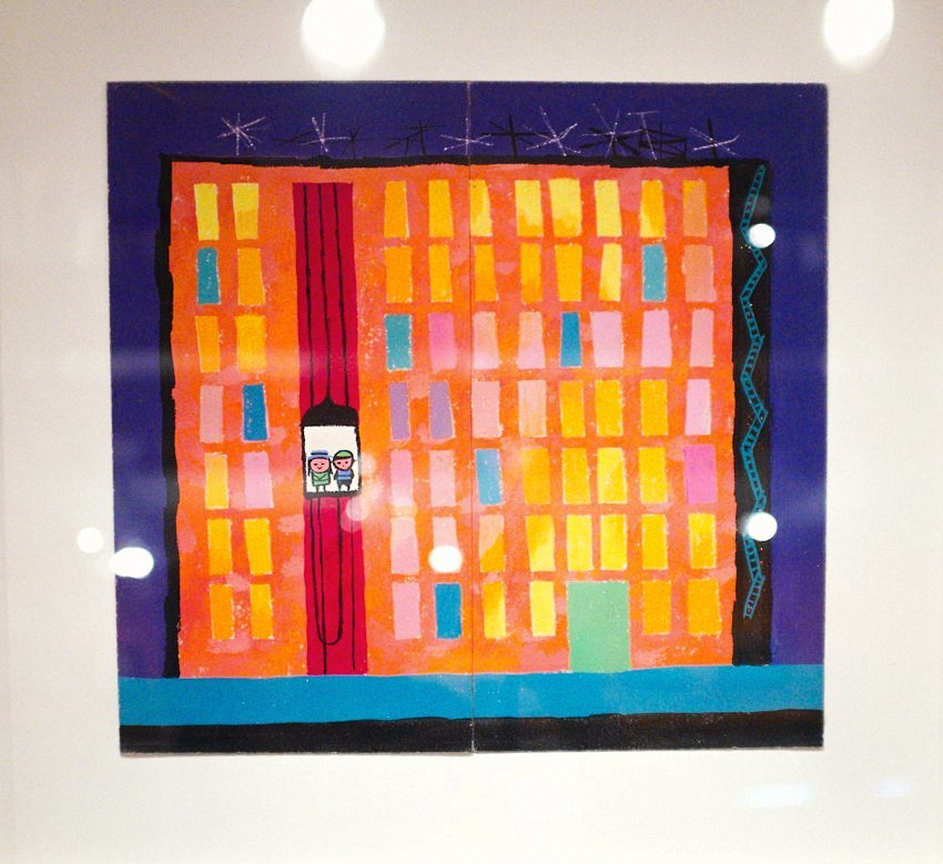 Mary Blair Art Exhibit Disney Family Museum 064