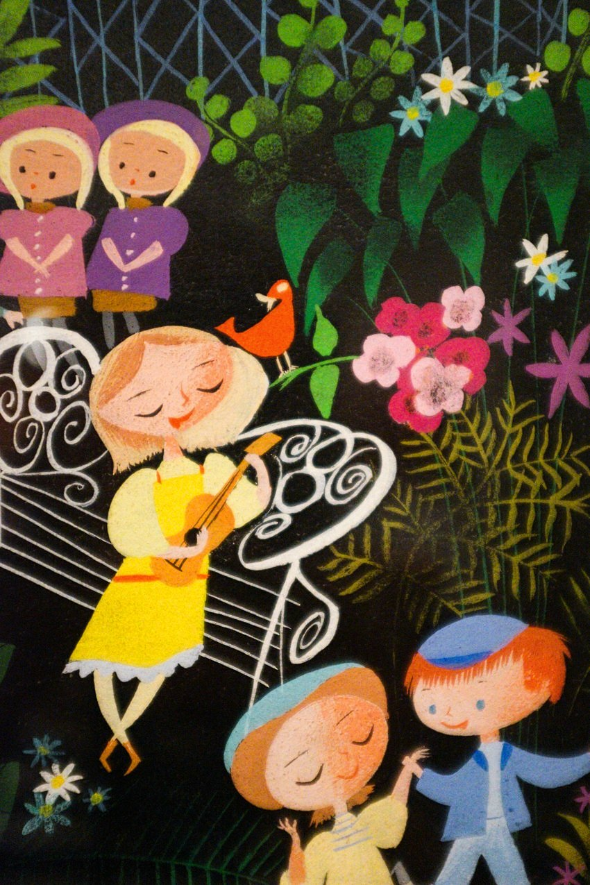 Mary Blair Art Exhibit Disney Family Museum 068
