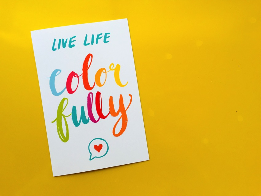Life life colorfully 001