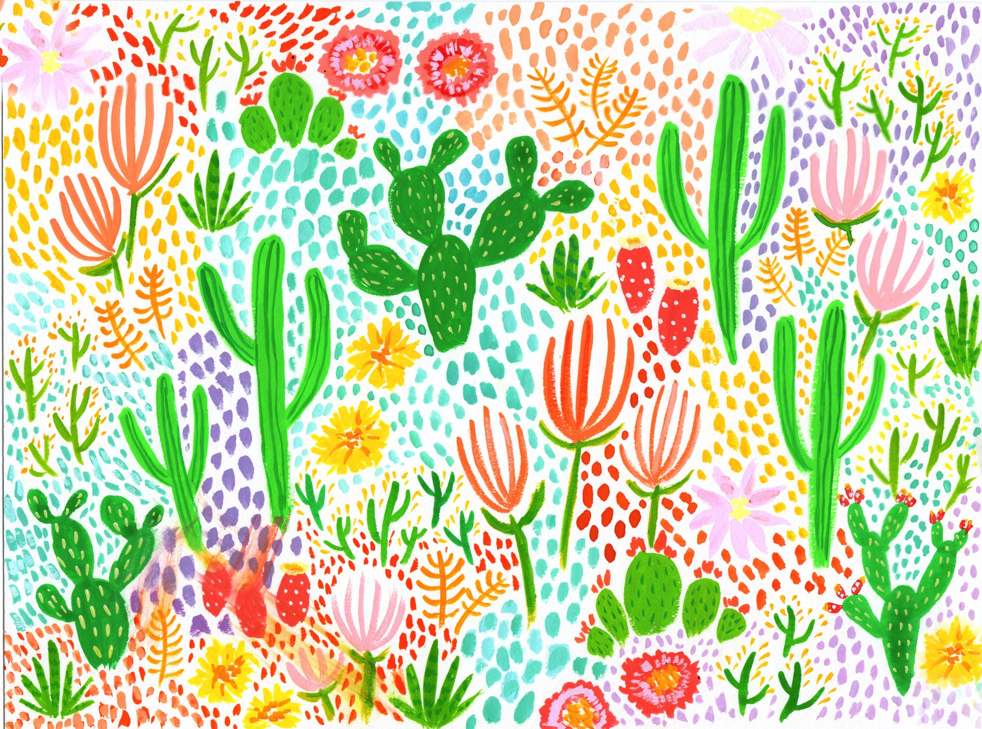 Bright Desert Mix by Lisa Bardot