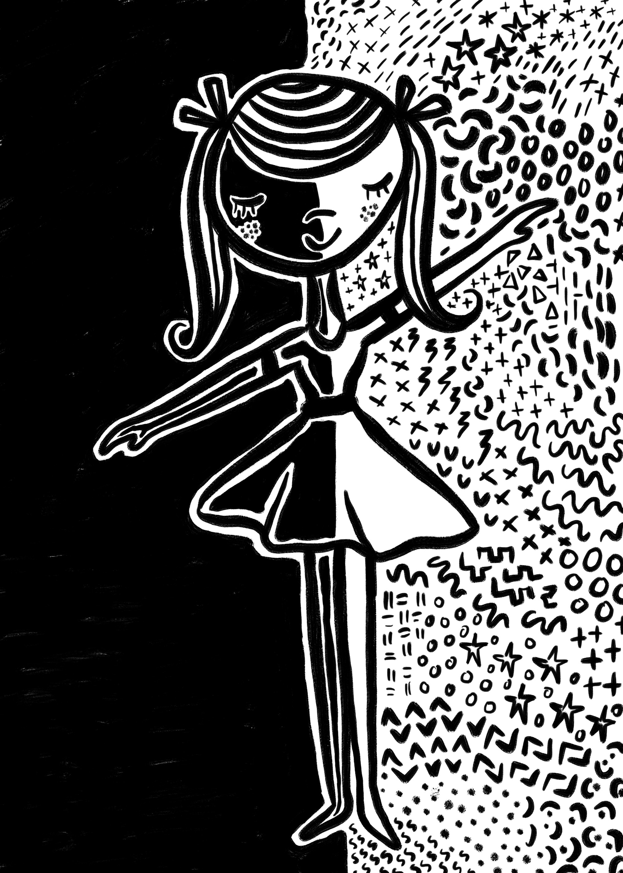 Dancing girl by Lisa Bardot
