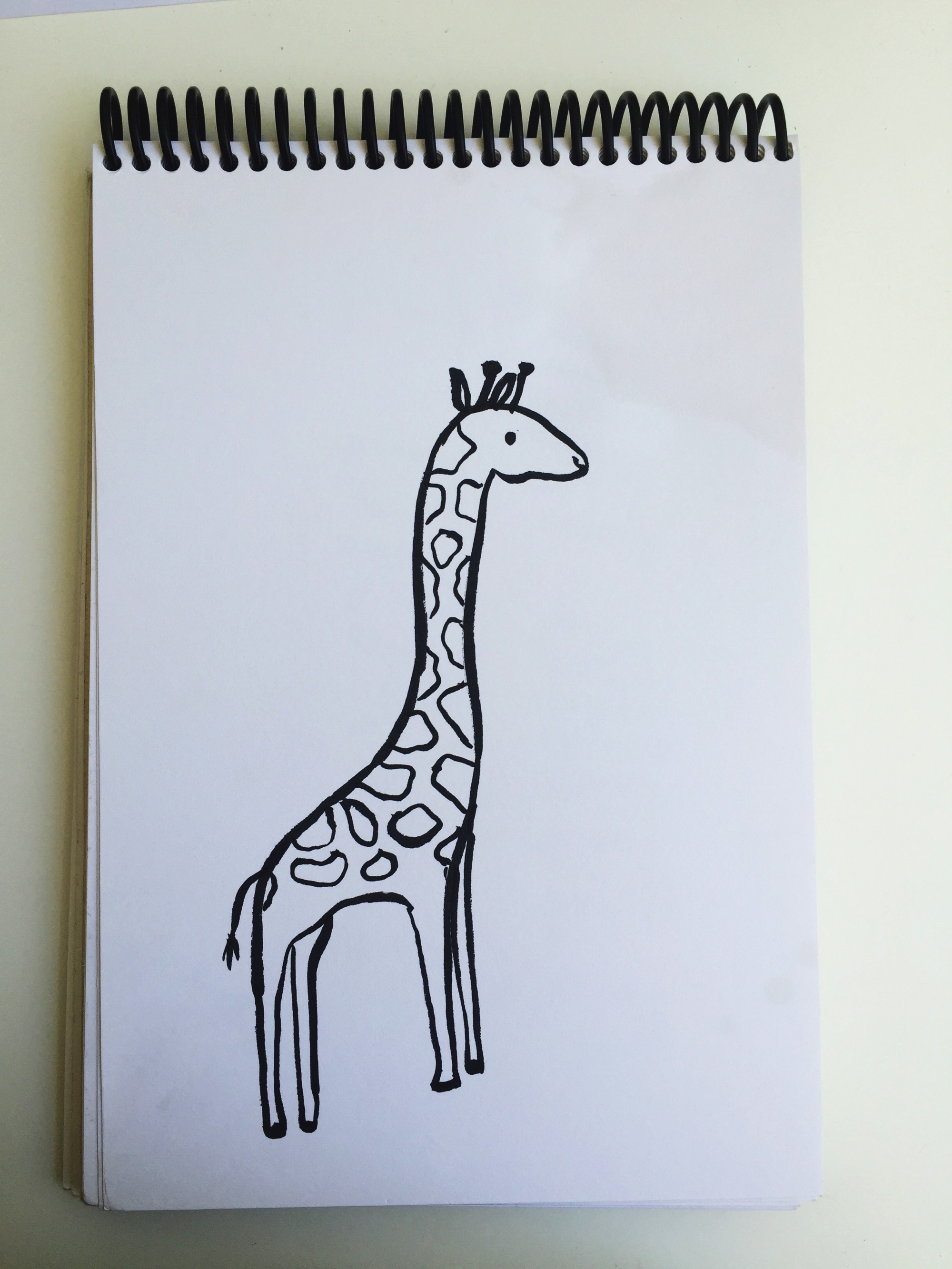 Giraffe by Request by Lisa Bardot