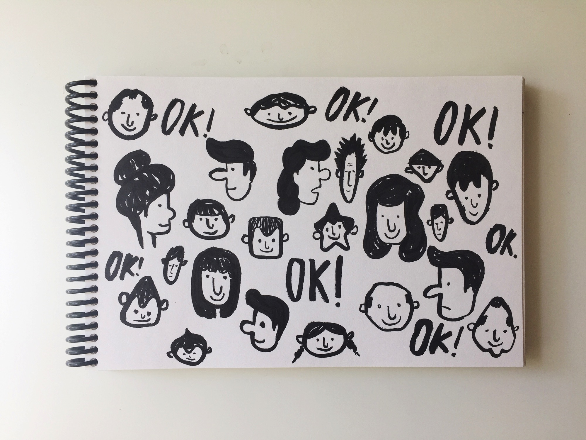 OK People by Lisa Bardot