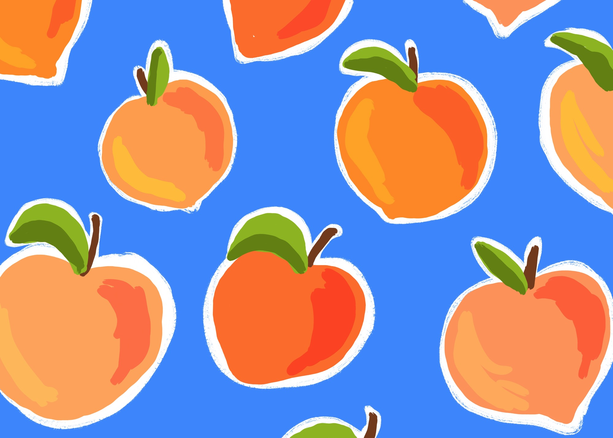 Peachy Patterm