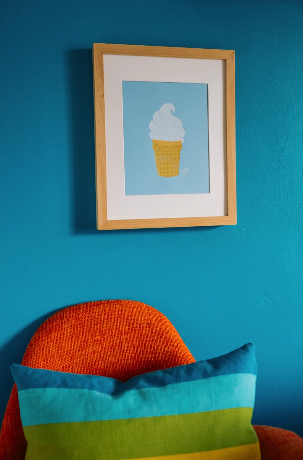Ice Cream Block Print by Lisa Bardot Photo 015